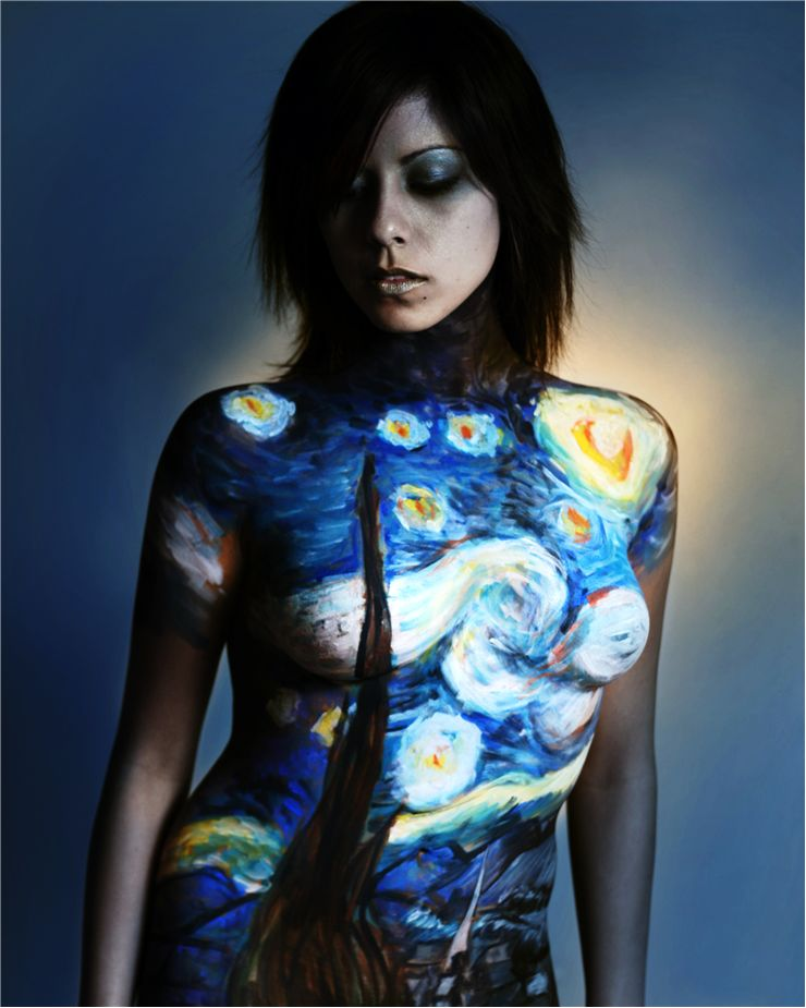 Picture Of Body Painting
