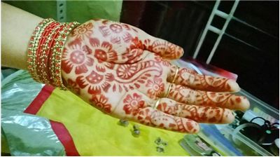 Picture Of Henna On A Hand