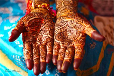 Picture Of Mehandi Hands