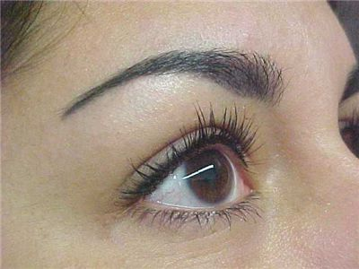 Picture Of Permanent Makeup Eyebrow Procedure
