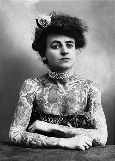 Picture Of Stevens Wagner Body Art