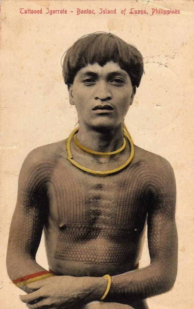 Picture Of Tattooed Igorot Male